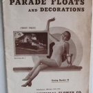 Parade Floats and Decorations Catalog Number 44 circa 1940 Chicago Artificial Flower Co CAFCO