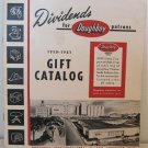 Dividends for Doughboy Patrons 1950 - 1951 Gift Catalog Kitchenware Watches Luggage Sporting Goods