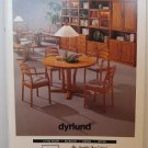 Dyrlund Danish Furniture Catalogue Modern 1970's? Christian of Copenhagen Teak Oak Pine Cherry