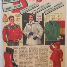 National Bella Hess Catalog 1954 Last Minute Bargains Apparel Clothing Shoes Lingerie