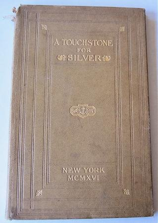 A Touchstone for Silver by Horace Townsend 1917 The Gorham Company Leather Bound