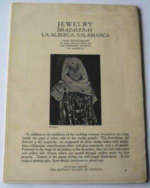 1931 Jewelry Brazaleras La Alberca Salamanca Hispanic Wedding Costume Ornaments Silver Glass