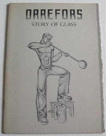 1938 Orrefors Story of Glass Van Dugteren Alessandroni Scarce History Designers