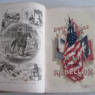 1866 Anecdotes War of the Rebellion Civil War by Kirkland Illustrated Women's Role First Edition