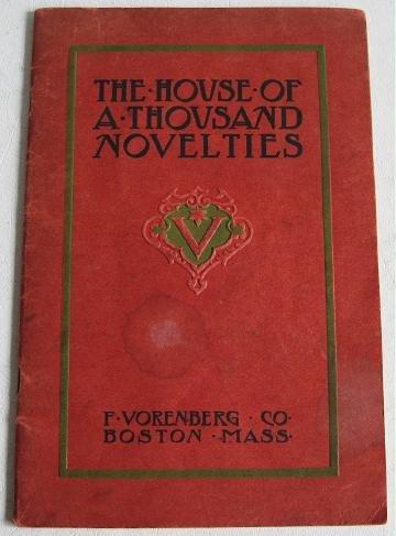 House of a Thousand Novelties circa 1910 F. Vorenberg Co Catalog Giftware Cuckoo Clocks China