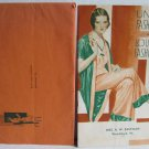 Under Fashions Lounging Fashions Catalog circa 1930 Munsing Wear Munsingwear Pajamas Slips Lingerie