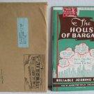 House of Bargains Catalog No.26 c.1939 Reliable Jobbing House Notions Food Perfume Radios