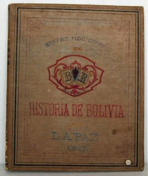 Historia Contemporanea de Bolivia 1887 Unfinished Handwritten Manuscript Belisario D Romero History