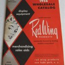 1956 Catalog Red Wing Products Display Equipment Clothing Apparel Store Supplies Forms Racks