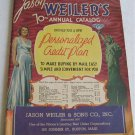 Jason Weilers 70th Annual Catalog Silver Jewlery Toys Small Appliances Kitchenware Watches Cameras