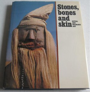 Stones Bones Skin Ritual Shamanic Art edited by Brodzky c.1977 Native Sacred Crafts