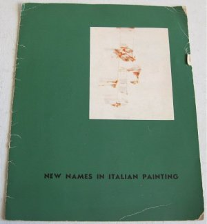 New Names in Italian Painting 1959 Exhibition Catalog Modern Art I Magnin Los Angeles Scarce