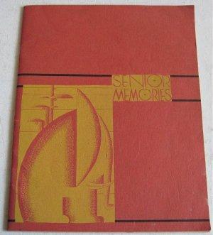 1934 Oakland Technical High School Yearbook California Senior Class Memories