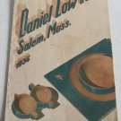 Daniel Low Co 1936 Catalog Sterling Silver Silverplate Jewelry Housewares Handbags Gifts Clocks
