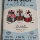 Tandy Leather Company Catalog Instruction Book No.356 Hand Tooled Carved Purses Belts Western