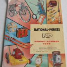 National-Porges Spring-Summer 1958 Catalog Camping Sports Lawn Garden Cameras Bicycles Pedal Cars