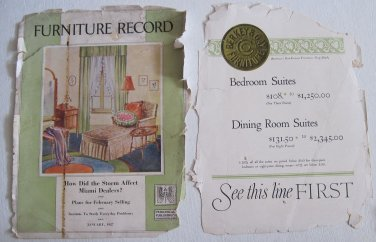 January 1927 Furniture Record Magazine Grand Rapids Periodical Ads Appliances Baby Cribs