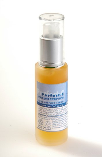 Men Natural face Serum - Active Vitamin C - Anti Aging Anti Oxidant Skincare for Men - NO SLS!