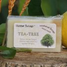Tea Tree Oil & Shea Butter Soap - Handmade Soap Bar - 100% natural Body & Bath luxury Treat!