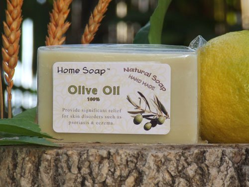 Olive Oil Soap Bar - 100% Pure Natural Handmade Soap Bar - Body Bath Luxury Homemade Soap!