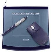 WACOM Intuos2 4x5 USB Tablet with Grip Pen 2D Mouse & Software