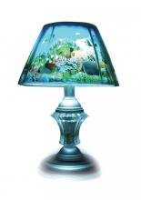 MOTIONLAMPS Electrical Rotating Aquarium Table Lamp
