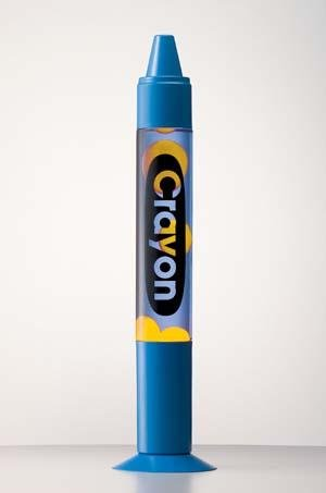 CREATIVE MOTION INDUSTRIES Blue Crayon Motion Lamp