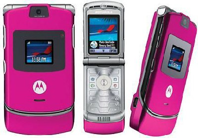 MOTOROLA Motorola V3 Pink Mobile Phone Unlocked