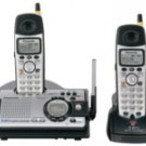 PANASONIC KX-TG5439PK 5.8 GHz FHSS GigaRange Dual-Handset  with Answering System