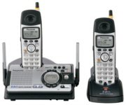 PANASONIC KX-TG5439PK 5.8 GHz FHSS GigaRange Dual-Handset  with Answering System