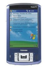 "TOSHIBAE800 4.0"" (240 x 320) TFT, 128MB, 32MB ROM, Bluetooth Pocket PC"
