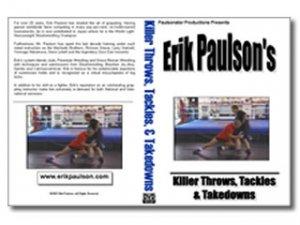 Erik Paulson Killer throws and takedowns DVD