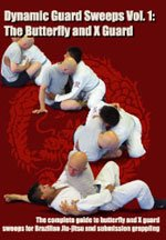 Dynamic Guard Sweeps Vol 1 Butterfly Guard Stephan Kesting