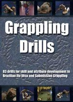 Grappling Drills For Brazilian Jiu-jitsu DVD by Stephan Kesting