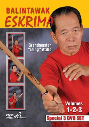 Balintawak Eskrima Grandmaster �Ising� Atillo DVD Set