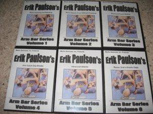 Erik Paulson Armbars Series Grappling DVD Set