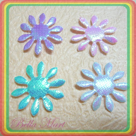 200 Mix Sunflower Applique Sew/Card/Embellishment A039
