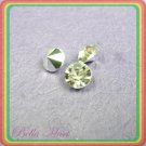 180 Diamond Hot Fix Rhinestone Loose Gem 8mm Silver R11