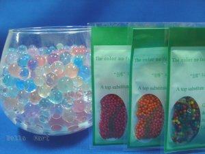 3 pack Crystal Pearl Soil Grow Plant Jewel Polymer/Gel