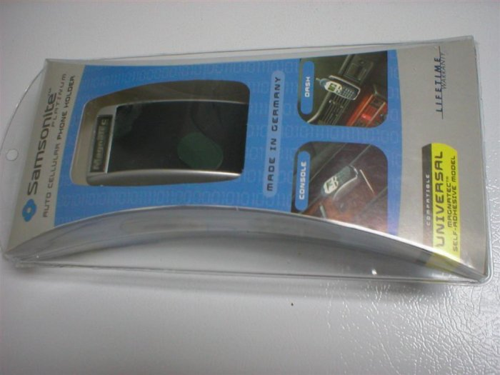 SAMSONITE PLATINUM AUTO CELLULAR PHONE HOLDER FOR CELL PHONE CELLPHONE