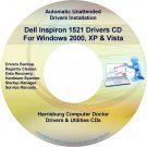 Dell Inspiron 1521 Drivers Restore Recovery CD/DVD