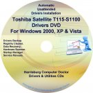 Toshiba Satellite T115-S1100 Drivers Recovery CD/DVD