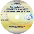 Toshiba Satellite U500-ST5307 Drivers Recovery CD/DVD