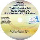 Toshiba Satellite Pro 420CDS Drivers Recovery CD/DVD