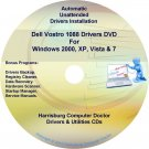 Dell Vostro 1088 Drivers Recovery Restore Disc CD/DVD