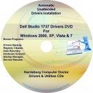 Dell Studio 1737 Drivers Recovery Restore Disc CD/DVD