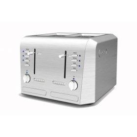 DeLonghi CTH4003 Esclusivo Pro-Metal 4-Slice Toaster