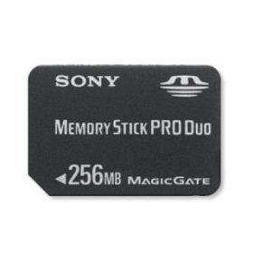 Sony 256mb MS Pro Duo NEW