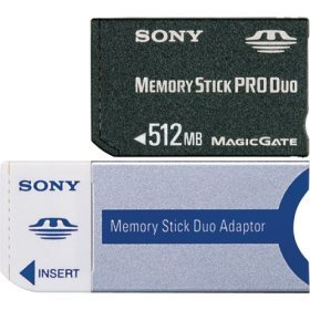 Sony 512mb MS Pro Duo
