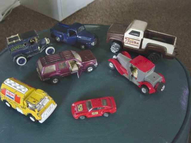 Set of Seven Vintage Vehicles Maisto Hotwheels Tonka Ertle #100003